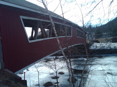 Covered bridge at Jackson, NH